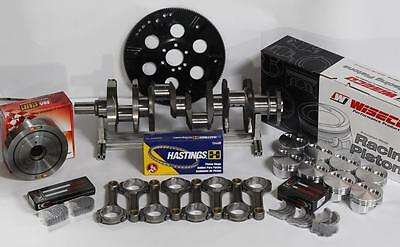 FORD 363 ASSEMBLY SCAT 4340 CRANK & H- BEAM RODS WISECO -8.5CC 4.125 BORE