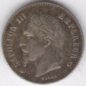1864-A-France-Silver-50-Centimes-European-Coins-Pennies2Pounds