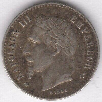 1864 A Francia Plata 50 Céntimos | Monedas Europeas | Centavos 2 Libras Una Gran Variedad De Modelos