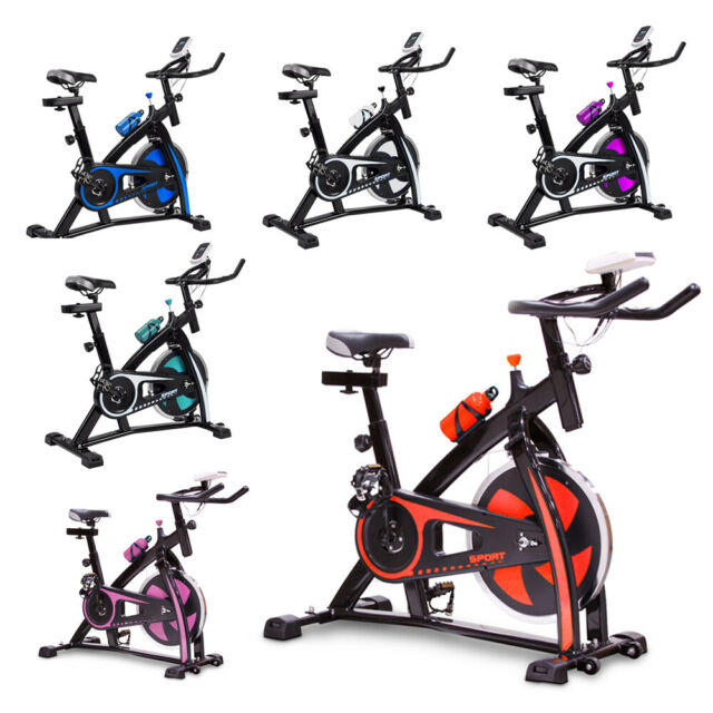 Stationary Exercise Sway Bike Indoor Cycling Bike 29lbs Flywheel Monitor Pink