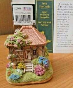 LILLIPUT-LANE-L2995-LITTLE-TEA-CADDY-UPPER-SWANMORE-HAMPSHIRE-BOX-amp-DEEDS