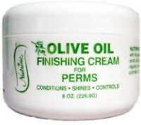 Nutrine Olive Oil Finishing Cream For Perms, 8 Oz (pack Of 2) on Sale
