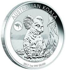 2017 1 Oz Silver KANGAROO Privy Australian KOALA Coin.