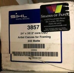 Sihl-Digital-24-034-x-35-039-Inkjet-Artist-Canvas-for-framing-340-matte-385724035