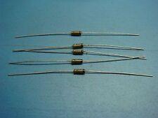 (5) CTP 1N198 80V GERMANIUM DIODE AXIAL TUBE RADIO VINTAGE