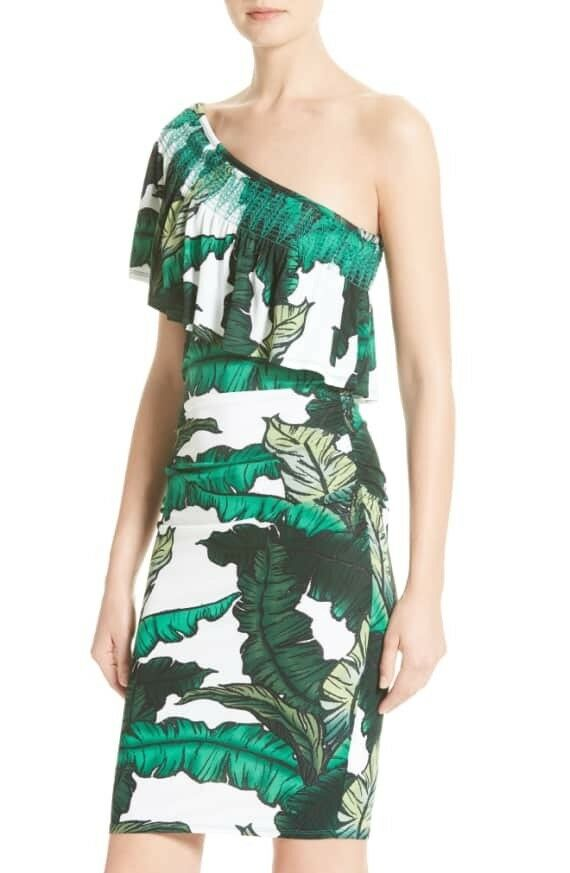 NWT Tracy Reese Print jersey dress