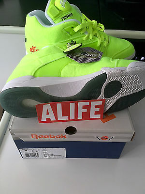 ALIFE X REEBOK BALL Out COURT VICTORY PUMP DS 2014 Jaune