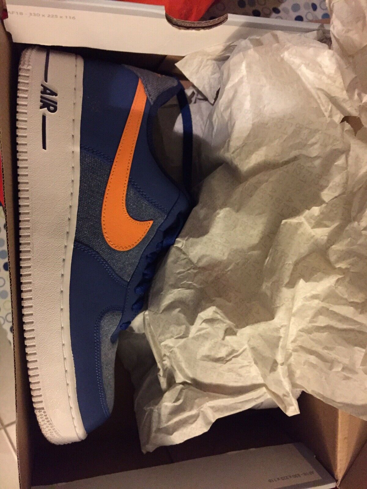 Nike air force 1 low bluee