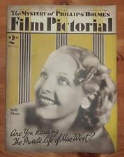 FILM PICTORIAL Vol V No 113 21ST APRIL 1934 SALLY BLANE FRONT COVER JEAN HARLOW