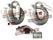 MF0051 - MARMITTA ANACONDA ARTIGIANALE MODIFICA MOTORE 130 VESPA 125 PRIMAVERA