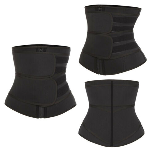Men Abdomen Fat Burner Belly Compression Body Shaper Waist Trainer Cincher Belt