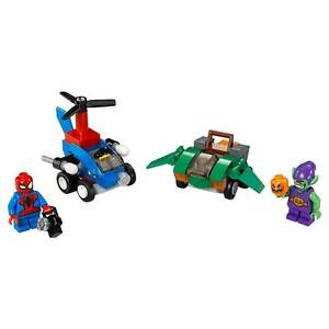 Details About Mib Lego Mighty Micros Spiderman Vs Green Goblin 76064