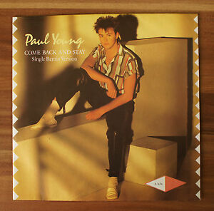 Single-7-034-VINYL-PAUL-YOUNG-come-Back-And-Stay