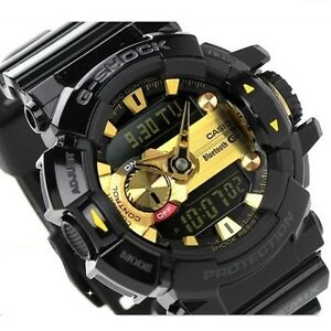 CASIO-G-SHOCK-G-MIX-GBA400-1A9-GBA-400-1A9-BLUETOOTH-SMART-BLACK-x-GOLD-MUSIC