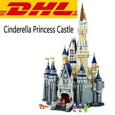 Custom Disney Castle Cinderella Castle 4080 Pcs Block Briks 71040-DHL Delivery