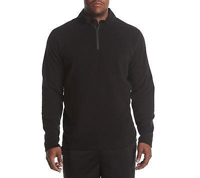 Exertek Men/'s Big /& Tall Microfleece Quarter-Zip Pullover Chose color MSRP 32.00