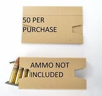 50x 7.62x39 Cardboard Inserts Silencers For Sks Stripper Clips