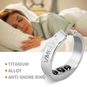 Acupressure Anti Snore Ring Treatment Reflexology Anti Snoring Apnea Sleeping