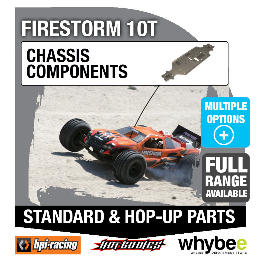 HPI FIRESTORM 10T [Chassis Components] Genuine HPi Racing R C Parts