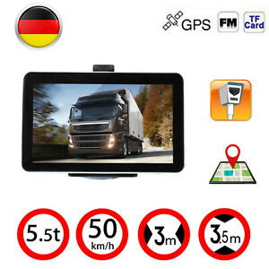 7 zoll tft lcd gps navi navigation f r auto lkw pkw navigationsger t eu karte ebay. Black Bedroom Furniture Sets. Home Design Ideas