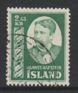 Iceland-1954-2k45-Hafstein-stamp-G-U-SG-326-c