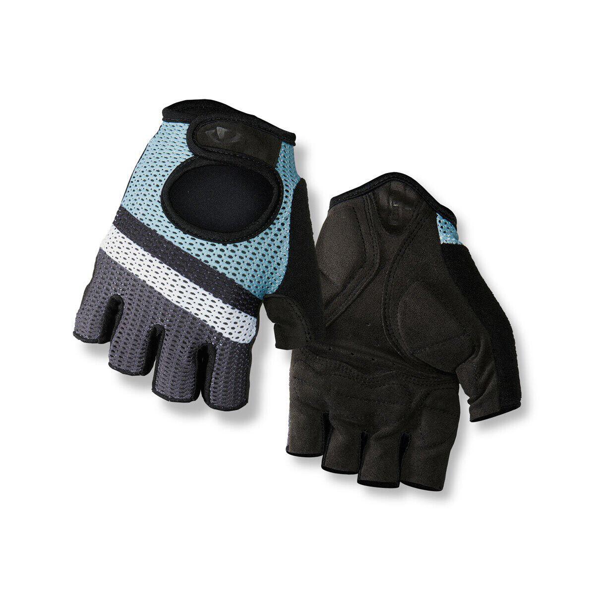 Giro Radhandschuhe Handschuh SIV blau atmungsaktiv flexibel schützend gestreift