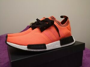 ce390ff3c9921 Adidas NMD R1 Orange Noise Size Exclusive Mens Shoes Sz 10 AC8171