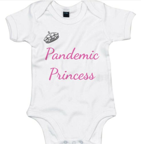 Baby grow Carino Custom Printed Ragazze Abbigliamento bambino per 2020 Pandemia principessa!