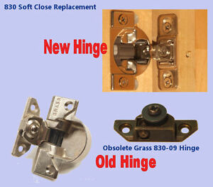 Excellent Details About Grass 830 09 Up Grade Replacement Hinges With Soft Close Sold As Pairs Interior Design Ideas Grebswwsoteloinfo