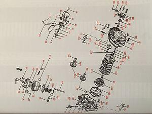1D4-E7460-00 Pignone rinvio Z=12 Rieju RS1 50 Minarelli AM6 95/99