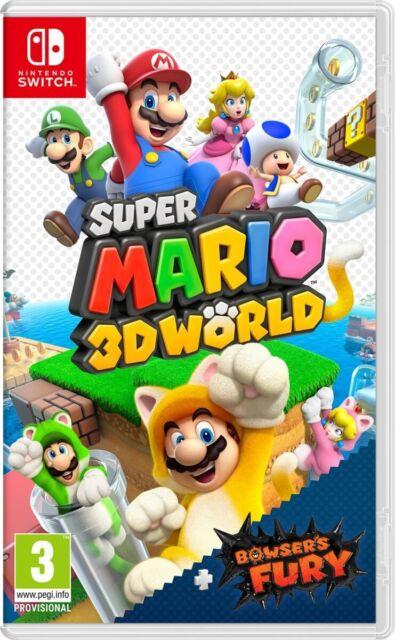 Videogioco Super Mario 3D Worlds + Bowser's Fury Nuovo ITA per Nintendo Switch