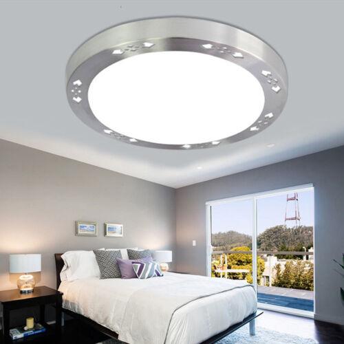 Round Modern LED Ceiling Lights Panel Home Kitchen Bedroom Bathroom Lamp Decor