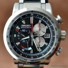 SEIKO SPRING DRIVE GMT CHRONOGRAPH LIMITED FULL SET SPS003 45MM Cal 5R86 STEEL