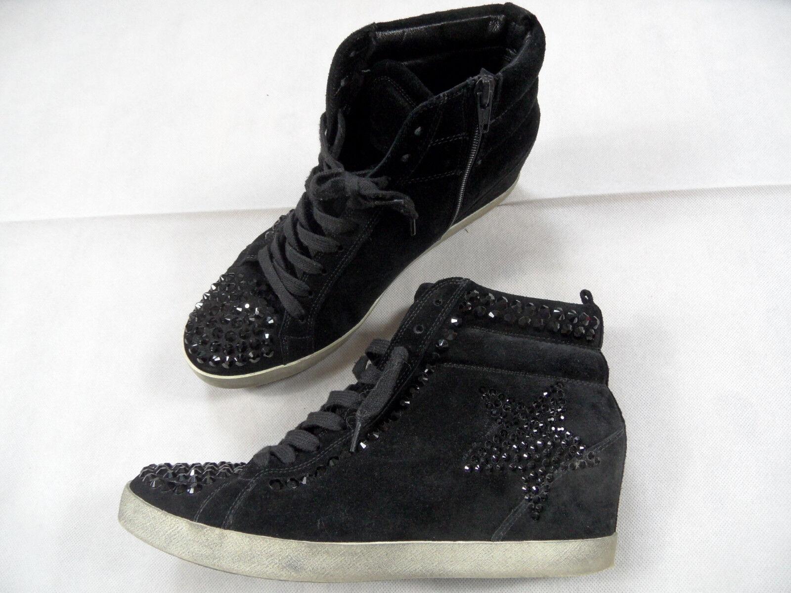 KENNEL&SCHMENGER Swarovski Keilabsatz Sneakers schwarz Swarovski KENNEL&SCHMENGER schwarz Gr.40,5 TOP SJ718 c82905