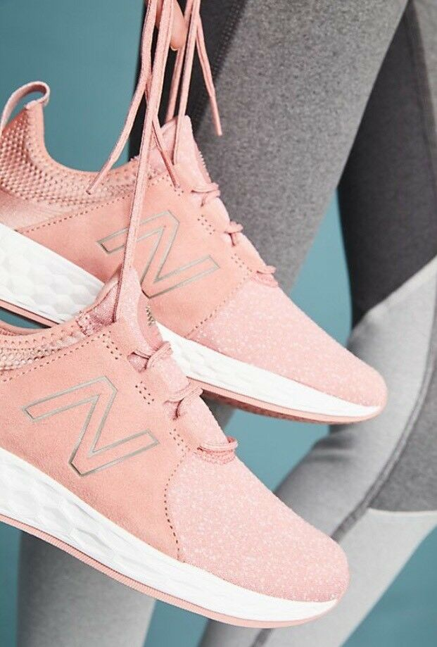 NIB Anthropologie For New Balance Pink Cruz Cruz Cruz Sneakers Athletic shoes 11 NEW 0e8956
