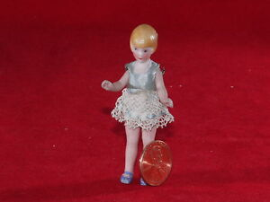 All-Original-Antique-All-bisque-Dolls-039-House-Doll-Marked-Germany-6-7cm-high