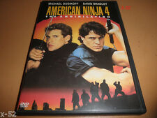 AMERICAN NINJA 4 rare DVD MICHAEL DUDIKOFF david BRADLEY the annihilation