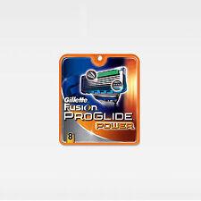 GILLETTE Fusion ProGlide Power Razor Blades 8 Cartridges