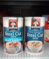 Quaker Steel Cut Oats -pick One