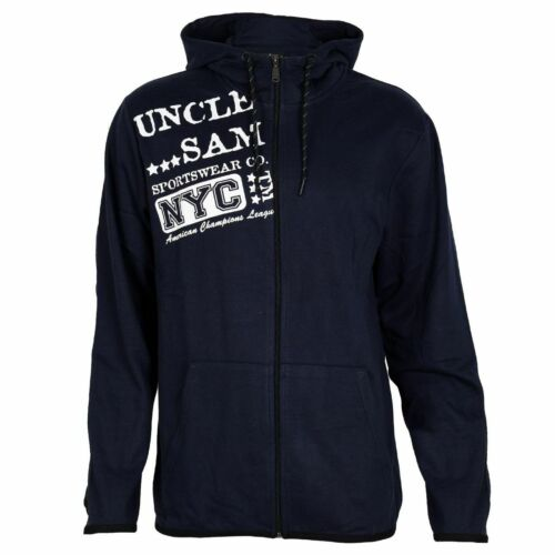 Uncle Sam Hommes Sweatjacke Hoddy avec capuche