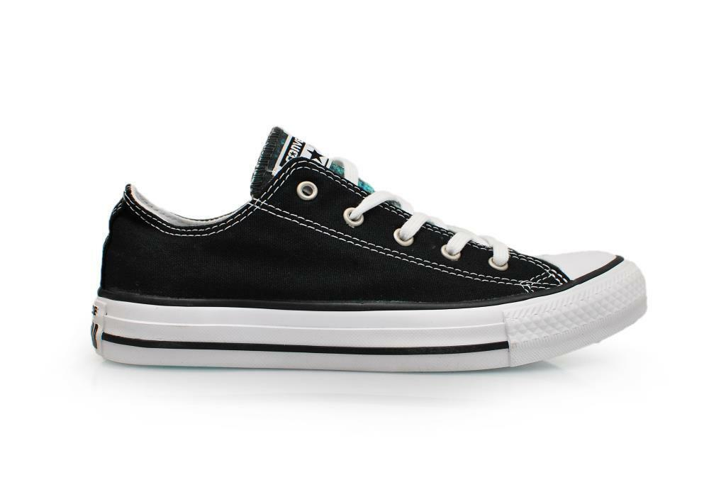 Unisex Converse CT OX - 548646C - Black White Trainers