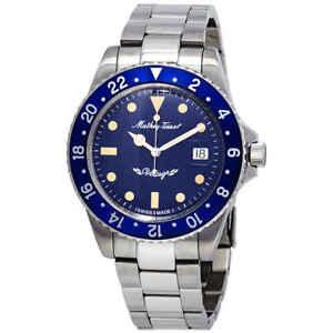 Mathey-Tissot-Mathey-Vintage-Automatic-Blue-Dial-Men-039-s-Watch-H901ATBU