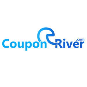 CouponRiver.com Catchy Two Word Brandable Domain Name for Discounts