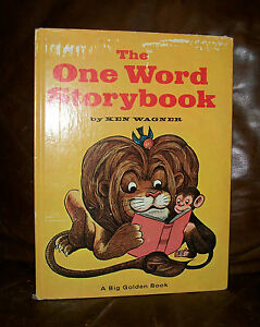 THE-ONE-WORD-STORYBOOK-by-Ken-Wagner-1969-A-Big-Golden-Book-Childrens-book