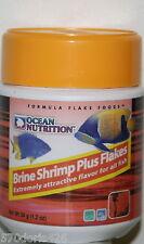 OCEAN NUTRITION BRINE SHRIMP PLUS FLAKES FOR ALL FISH 1.2 OZ.