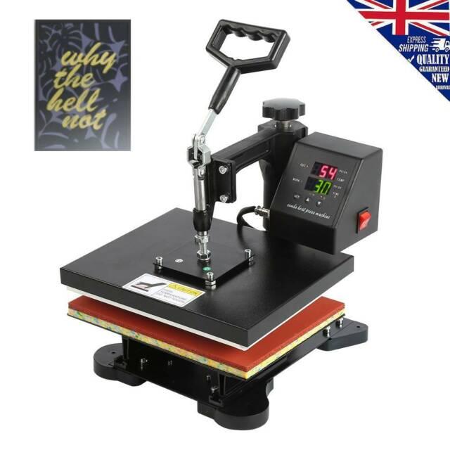 Manual Heat Press Machine Digital Transfer Sublimation Combo Printer 750w Uk For Sale Online Ebay
