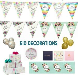 Eid-Mubarak-Party-Decorations-Banner-Balloons-Bunting-Cards-Flags-Hanging-Decor