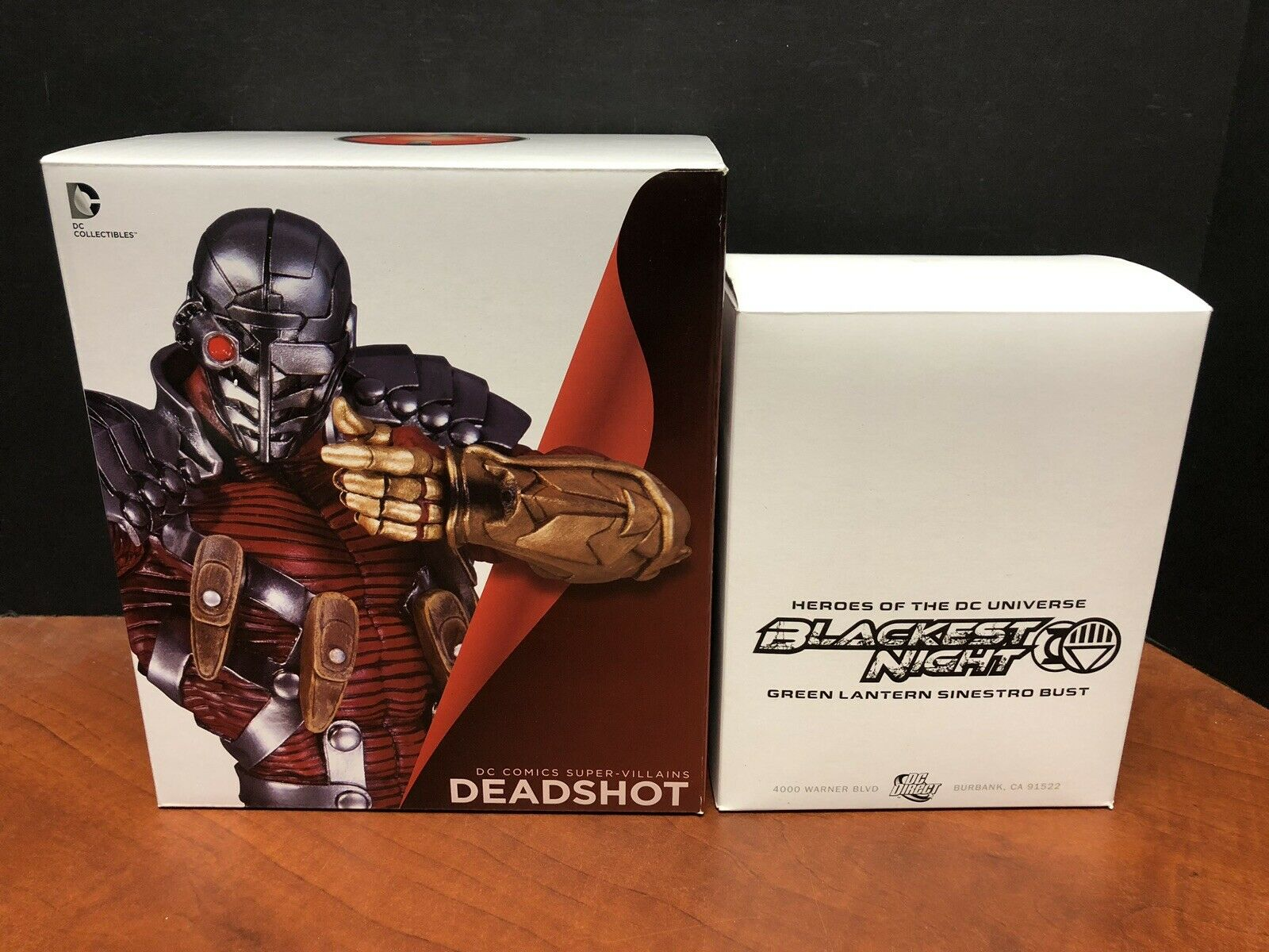 DC Collectibles Direct Deadscaliente & Sinestro autobust Lot Of 2 TAMP0162