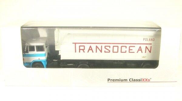 LIAZ 110 Orlican N13CH TRANSOCEAN (white  bluee)