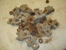 1962 Allis Chalmers D19 Tractor Rear Wheel Wedges Clamps Lot 2